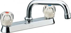 2バルブ混合水栓
